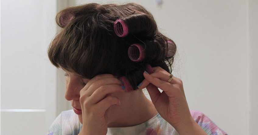 Wigs And Velcro Curlers 46